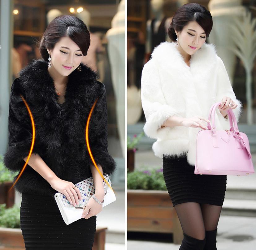 новые зимние женские кролик мех пальто