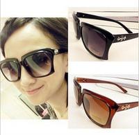 2014 Fashion Vintage Square SunGlasses Women Optical Oculos Sunglasses Gafas Goggles Sun Glasses