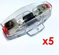5 piece/lot Mini ANL AFS  Fuse holder / auto fuse holder 12V volt DC