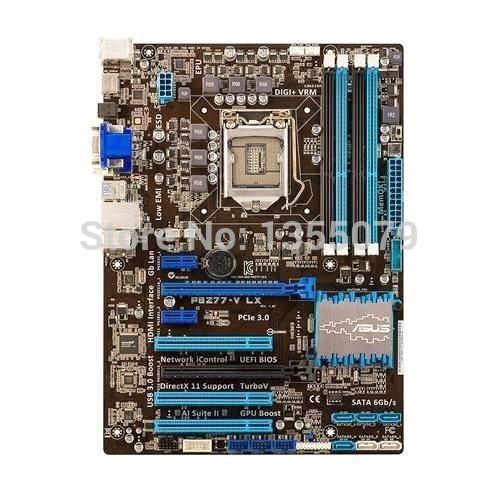 P8Z77-V LX For Z77 DDR3 SOCKET LGA1155 DDR3 USB 3.0 HDMI Desktop Motherboard(China (Mainland))