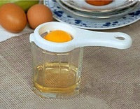 1pcs  Kitchen gadgets egg yolk egg white separator transparent processing of egg whisk