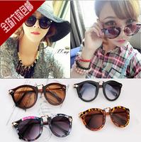 2014 Fashion Vintage Round SunGlasses Women Men Optical Oculos Sunglasses Gafas Goggles Sun Glasses