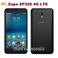 5.0 inch Original ZOPO ZP320 4G LTE Smart Phone MT6582M Quad Core Android4.4 IPS960X540 1GB RAM 8GB ROM 8MP Camera Bluetooth GPS