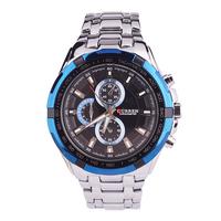 New Christmas Curren Brand Men's Stainless Steel Watch,  Waterproof Date Quartz Watch