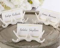 """Antler"" Place Card holder, resin wedding table place card holder New design"