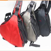 Waterproof  Triangle package Camera Bag For DSLR camera / Professional SLR Portable Shoulder Bag /
