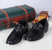 Top Quality  New Black /Brown Men Leather Oxford Dress Shoes Slip On Business Wedding Shoes Comfortable Driving Shoes