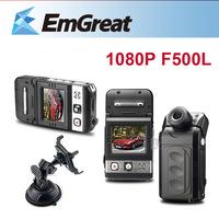 Ambarella F500L HD 1080P Car DVRS + 8G SD Card Mini Camcoder 140 Degree View G-sensor Camera Para Carro Car Camera De Carro