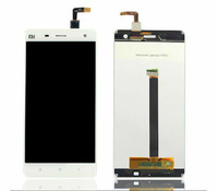 5pcs lot 100% New Original LCD Display Screen Assembly +Touch Screen Within Frame For xiaomi xiao mi 4 M4 White
