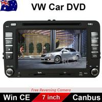 7 inch Car DVD Player GPS Radio For Volkswagen VW AMAROK GOLF JETTA POLO PASSAT TIGUAN EOS TRANSPORTER TOURAN BORA CADDY