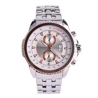 CURREN Luxury Brand Men's Watches with Calendar Stainless Steel Strap Japan Movt Quartz Wristwatch