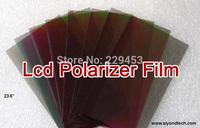 "10pcs 23.6""W 16:9 45 degree LCD Polarizing film Matte Polarized film"