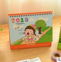 New 2014 ranch little girl calendar 2015  desktop calendar    17885    0.1kg