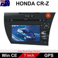 7.0 inch Car DVD GPS Stereo Player Head Unit For HONDA CR-Z ZF IPOD Bluetooth