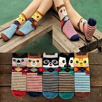 Free shipping  2014 Winter HarajukuThree-dimendional Women's socks The relent expression Women Socks Cartoon Novelty Socks