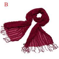 Womenr 2014 autumn and spring tassel wrinkled fall scarfs 2014 for women art style scarf ,NL-2209