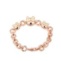 ROXI top swiss zircon Crystals luxury platinum Bracelet party cat style women bracelet bithday gift girl's bracelets bangles