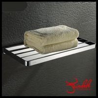 Brass Bathroom Towel Holder Rack Towel Shelf Support Bathroom Shelf Corner Shelf Bathroom Hardware