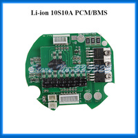 10S 10A Li-ion BMS/PCM/PCB Circuit Board For 36v /37V Li ion Rechargeable Battery Pack with free Balancing wire