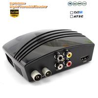 High Defintion Digital Terrestrial Receiver Full HD 1080P DVB T2 ATSC Set Top Box MPEG4 H.264 For Freeshipping