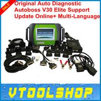 Top Rated 2014  Original SPX Autoboss V30 Elite Auto Scanner AUTOBOSS V30 Elite Free Update Online Support Multi-brand Vehicles