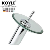 KOYLE - Bathroom waterfall Faucet Chrome Finish  Mixer Tap faucets mixers taps torneira torneiras para  banheiro bathroom faucet