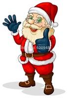 Merry Christmas series,2015 santa claus Paper Car Air Freshener 6*9cm