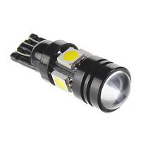 Super Bright led car light lamp Door lamp Brake Light Side Marker Light Reading T10 7W 5x5050SMD 490LM 6000K LED Bulb for Car