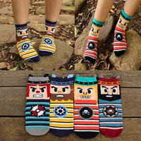 2014 Harajuku High quality South Korean women's Cute Cartoon angry people characters Cotton tube designer funny Socks meias soks