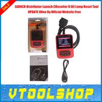 Top 2014  Launch CResetter II Oil Lamp Reset tool with Color LCD Display Cresetter II 100% Original Online Update+Multi language