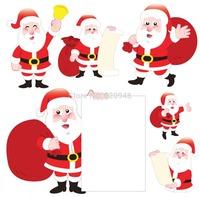 Merry Christmas series,Wholesale Santa Claus Paper Car Air Freshener