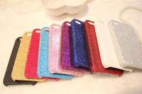 200pcs-New Bling Glitter Diamond Powder Hard Plastic Case Cover For iphone 6 4.7 & 5.5 inch