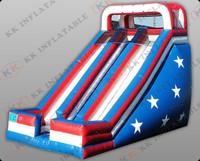 commercial inflatable slide for adult, large inflatable slide in US KKDS-L013