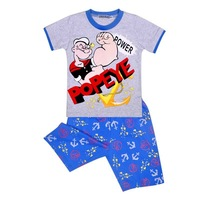 cute children wear 2014 baby boys cartoon summer clothing set kids short sleeve cotton t shirt + pants pajamas free shipping