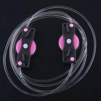 LED Light Up Shoes Shoelaces Luminous Shoestring Pink Light