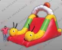 inflatable slip and slide, small inflatable slide for kids KKDS-L016
