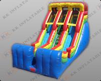 double lane commercial inflatable slide for sale  KKDS-L014