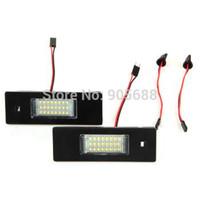 20set/lot 24 LED 3528 SMD Number License Plate Light Tail Lamp for E64 E81