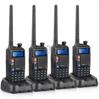 New 4pcs BAOFENG UV-5X Upgrade Version of UV-5R UHF+VHF Dual Band/Dual Watch Two-Way Radio Walkie Talkie FM Function P0015853