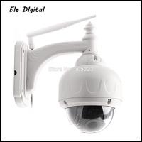 1pc/lot dhl free High quality wifi wireless HD IP cctv camera with 1280x720 (Mega Pixels)