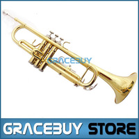 The Trompet Mendini b Flat Bb Student Trumpeter Beginner Trumpet For Sale, a Gold Brass Trumpeteer New Brand