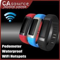 2014 U Watch U9 U-See Smart Watch Bluetooth SmartWatch Waterproof Wrist Pedometer Wifi Hotspots For iPhone Android For Samsung