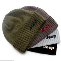 Hot  sale  Winter fashion wool knit cap  Men's hats