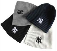 Hot  sale  Winter Fashion wool hat  Men Women Paul warm striped knit hat hedging