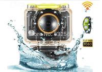 Waterproof 1080p HD Sports Camera 170 degree angle 5MP WIFI Sport Camera