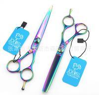 6.5 -inch professional salon products shaving tesoura de cabeleireiro profissional hair scissors styling tools 2pcs/set 3644