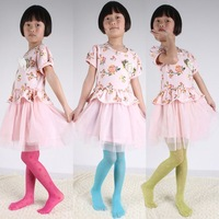 Baby Girl Lace Pantyhose Female Children Dance Tight Flower Pantyhose Spring Summer Autumn Thin Child Stockings