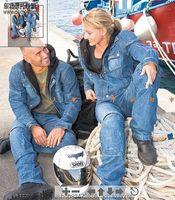 Real braand 100% Men and women motorcycle jacket 2014 Jacke popular clothing Motorcycle Cowboy drop resistance racing suit