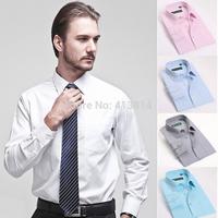 Men's brand shirt Mens long sleeve dress shirt men Classic easy care business Formal shirts Camisas Masculina plus size