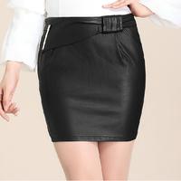 2014 New Arrival Slim Mini Skirts Plus size Big Bow Ornament Pockets Fashion Skirt